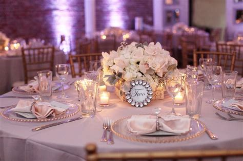 a glamorous pink white amp silver engagement party every
