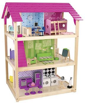 kidkraft so chic doll house kidkraft so chic dollhouse with furniture 138 reg 299 99 best price
