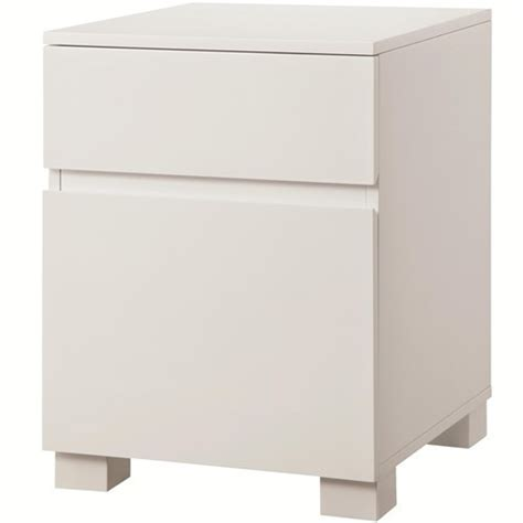 Gloss White Filing Cabinet Gloss White File Cabinet With 2 Drawers Ebay