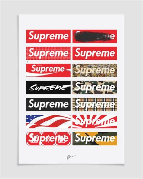 supreme box logo kick posters kickposters home