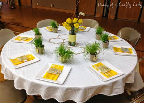 Glass Vases Centerpieces Ideas Diary Of A Crafty Lady Spring Dinner Party Bee