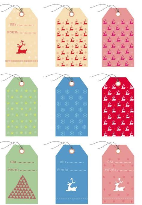 Etiquettes Cadeau Noel by Les 10 Belles Etiquettes Cadeaux De Noel Du Web