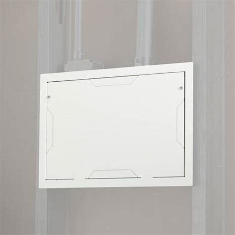 chief in wall storage box in wall storage box with flange and cover