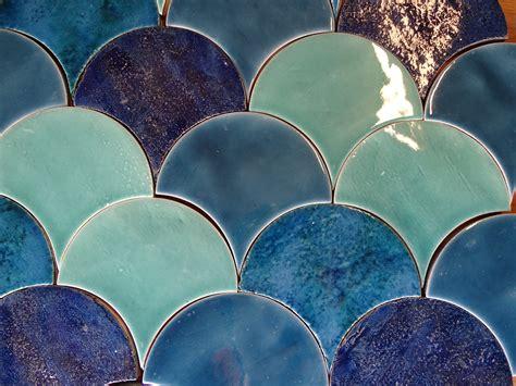 mermaid fish scale tile
