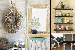 Diy Home Decorations Ideas by 36 Breezy Beach Inspired Diy Home Decorating Ideas