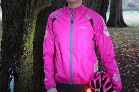 fluorescent waterproof cycling jacket pink fluorescent jacket coat nj