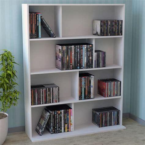 difference between a bookshelf vs dvd storage shelf