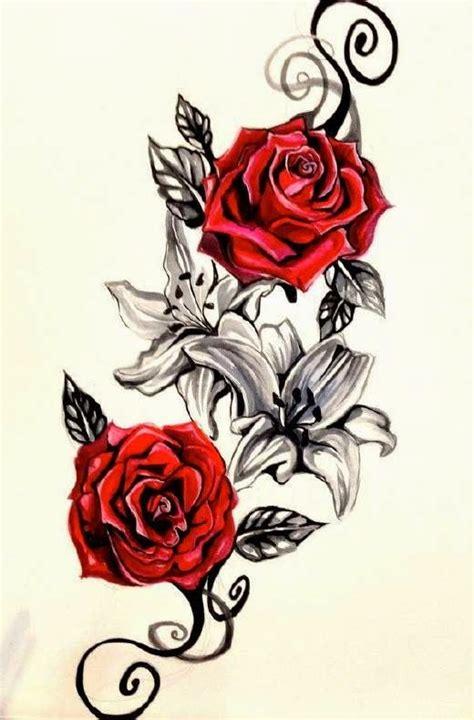 Tatuajes de Rosas y Todos sus Significados    Femeninas