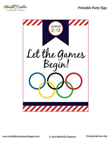 olympic invitation template kara s ideas olympic themed free printables