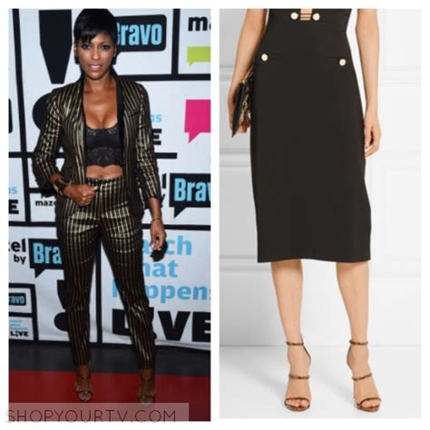 where does tamron hall buy her clothes watch what happens live september 2016 tamron s metallic