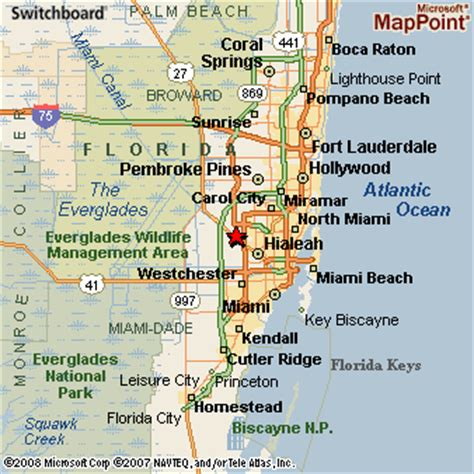 Hialeah Gardens Zip Code by Hialeah Map Travel Map Vacations Travelsfinders