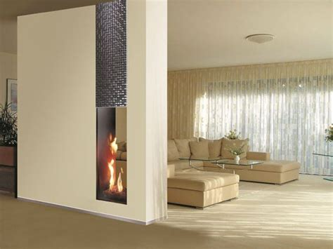 Two Sided Gas Fireplace Insert by Roma Sided Fireplace Insert By Italkero