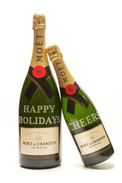 personalized moet chandon