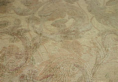 victorian fabrics upholstery beige victorian print chenille upholstery fabric f162 ebay