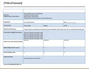 Lesson Plan Checklist Template by Free Weekly Checklist Template Formal Word Templates