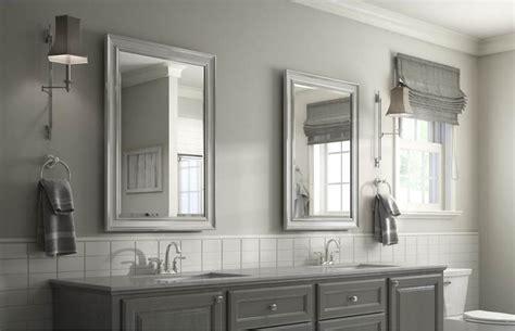 bathroom mirrors   space delta faucet