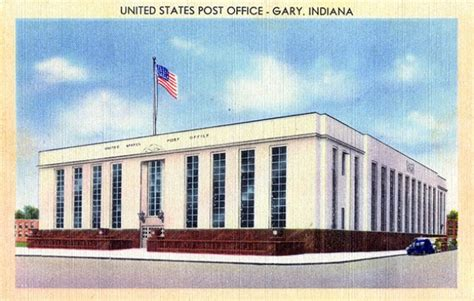 Post Office In Gary Indiana by Post Gary Biography