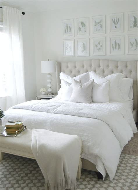 White Bed by 20 White Bedroom Ideas That Bring Comfort To Your Sleeping