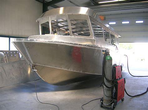 aluminium boot werft aluminium arbeitsboot sportboot coenen yacht boats gmbh