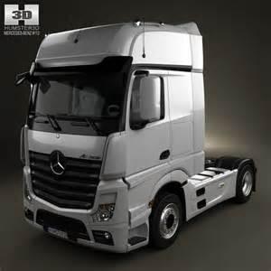 Mercedes Truck Models Mercedes Actros 1851 Tractor Truck 2013 3d Model