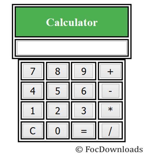 calculator simple june 2016 free of cost downloads