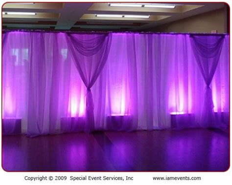 piping drapes 5 fab ways to showcase your color 1 pipe drape
