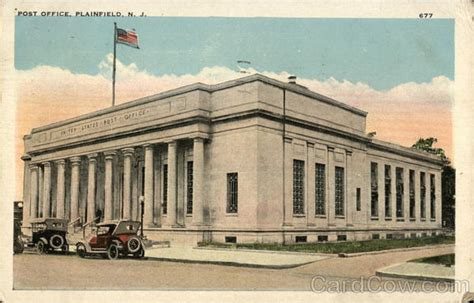 Post Office Plainfield Nj post office plainfield nj postcard
