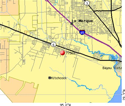 hitchcock texas map 77563 zip code hitchcock texas profile homes apartments schools population income