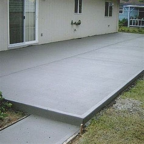 Backyard Concrete Slab Ideas Best 25 Cement Patio Ideas On Pinterest Concrete Driveway Pavers Concrete Patio And Backyard