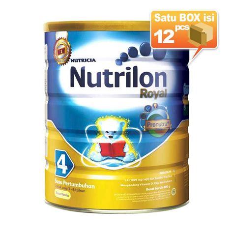 Nutrilon 3 Vanila 800 Gr Tin jual nutrilon royal pronutra 4 vanila formula tin
