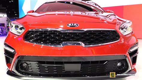 detroit boat show 2019 2019 kia forte ex exterior and interior walkaround
