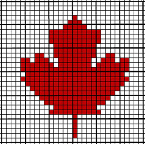 leaf pattern knitting charts ravelry crochet chart maple leaf pattern by tara coffee