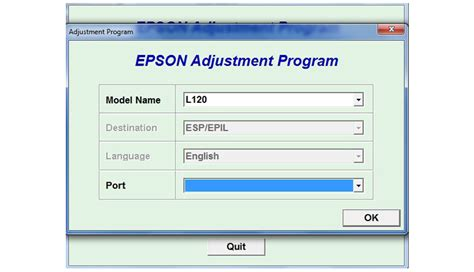 How To Reset Epson L120 Resetter | how to reset epson l120 printer