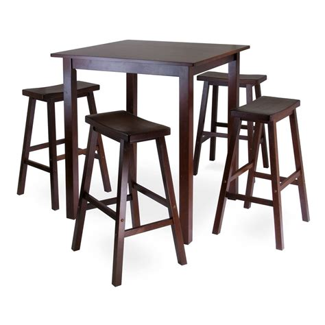 shop winsome wood parkland antique walnut dining set with