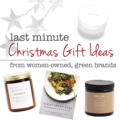 last minute christmas gift ideas kristen arnett s green