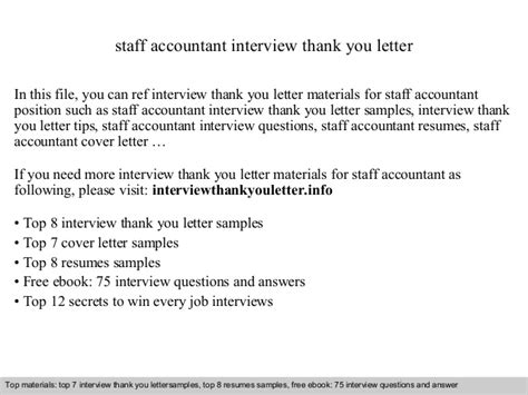 Thank You Letter For Accounting staff accountant