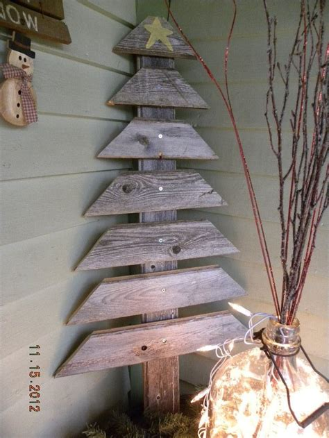 homemade christmas decorations  rustic charm