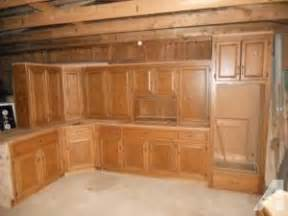 Very nice used custom oak kitchen cabinets cumming ga for sale in