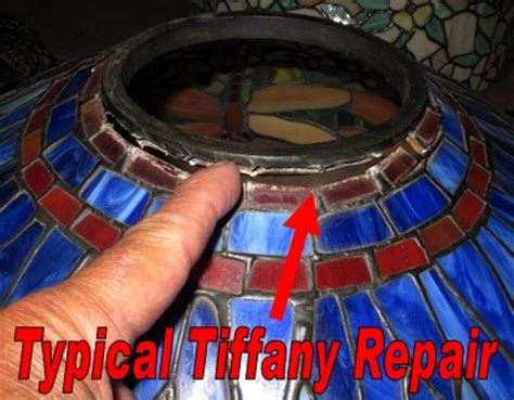 Antique Chandelier Tiffany Lamp Shade Top Ring Repair Lamp Shade Pro