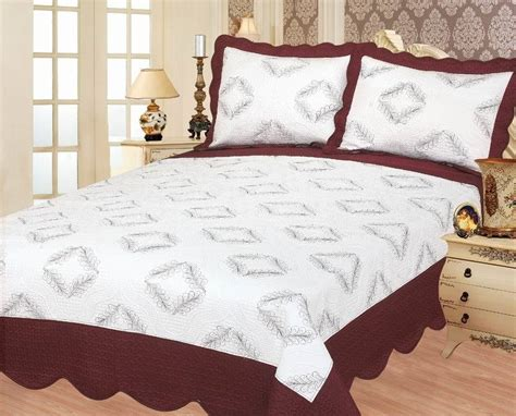 cotton polyester comforter china polyester cotton bedding sets with embroidery 5
