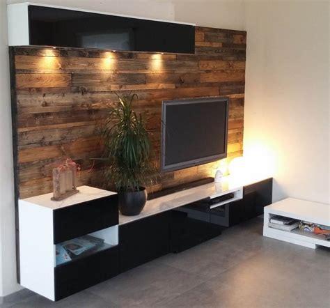 besta panels best 197 media center with wood panels ikea hacks