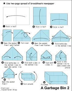How To Make A Paper Hat With A4 Paper - box tutorial instrucciones para realizar una