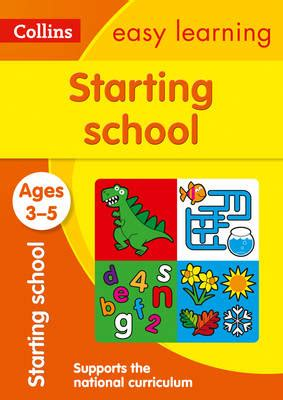 0008151601 starting school workbook ages all the collins easy learning preschool books in order