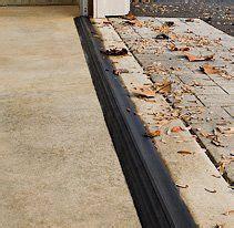 Stop Water From Coming Garage Door by Tsunami Seal How To Stop Water From Coming In