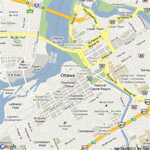 map of ottawa ontario canada map of ottawa canada hotels accommodation