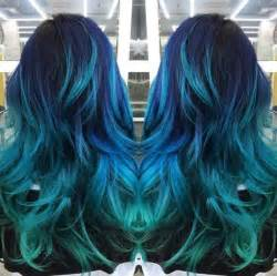 turquoise color hair best 25 turquoise hair ideas on mint hair