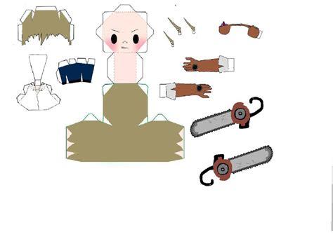 Soul Eater Papercraft - soul eater giriko papercraft by 6turtles on deviantart