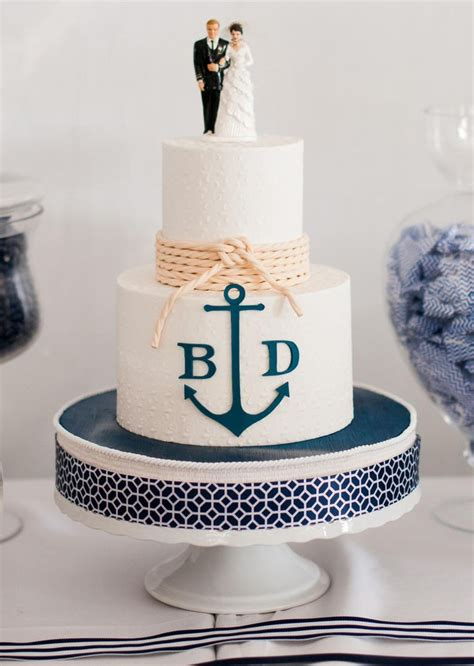 25 best ideas about nautical wedding cakes on wedding cakes themed