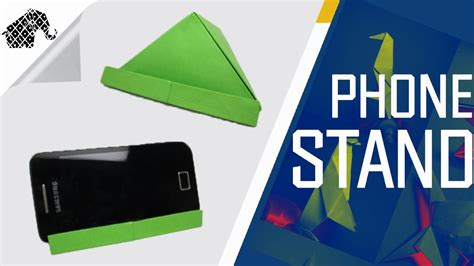 origami how to make an origami phone stand holder