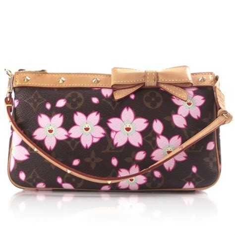 Find Louis Vuitton Cherry Blossom Griotte Bag by Louis Vuitton Cherry Blossom Pochette 12130